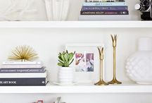 interiors / vignettes & shelf styling / by Simply Southern Wedding Guide