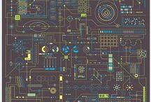Infographics & Visual Data / Creative & inspiring infographics and visual data