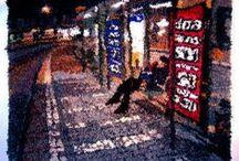 Textile Art / Creative and urban textile art