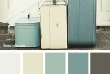 Colour Inspirations / Inspirational colour palettes