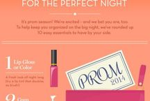 PROM / MAKEUP, HAIR, OUTFIT. FOR THE PERFECT PROM!