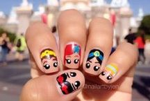 Nail art for the young at heart / I love to try out some cute nail art designs when I'm on holiday.  Do expect to receive a lot of attention from kids and teens around you!