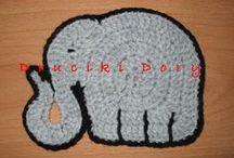 crochet / knitting - animals