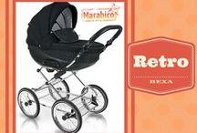 Bexa Retro / El cochecito de bebé de estilo retro y linea clásica que se comporta como un auténtico todoterreno. Estilo, lujo y mucha clase con un carrito de bebé que no pasa desapercibido.