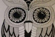 My Zentangle / Hier pinne ich ausschließlich Zeichnungen, die von mir selbst stammen.