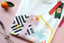 Collection Sous Les Tropiques / Tous nos produits de notre collection printemps-été. Ambiance tropicale et exotique. Tshirts en coton bio imprimés pour femme