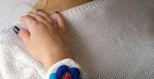 Bracelets /  #bracelet #cuff #wool
