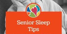 Senior Sleep Tips / As we age, getting a good nights sleep becomes more difficult. When you factor in dementia, arthritis, or sleep apnea sleeping well becomes a huge priority. These carefully curated tips are for caregivers and seniors who know that good sleep is the key to a good life.