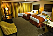 Barrier Free Rooms / We have barrier free rooms in both single King or double Queen options.