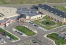 Aerial Photos of Best Western Plus Camrose Resort Casino / Thanks to our friends who have recently provided aerial photos of our property.