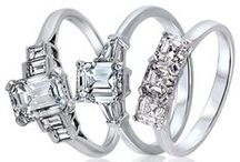 Emerald Cut Engagement Rings