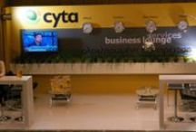 Cyta / #exponymo #booth #exhibitor #exhibition #cyta #communication