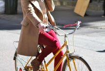 W bicycle and fashion