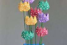 Gurigaötlet-tulipáncsokor