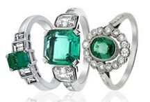 May Birthstone - Emerald / A celebration of May's birthstone, the majestic Emerald
