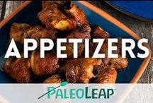 Paleo Appetizers / A board with the best Paleo appetizers and finger foods. / by Paleo Leap