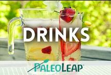 Paleo Drinks / Something refreshing to quench your thirst. / by Paleo Leap