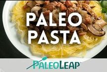 Paleo Pasta Recipes / We love our pasta too! All the best Paleo pasta alternatives. / by Paleo Leap