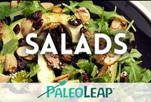 Paleo Salad Recipes / Fresh and tasty Paleo salads. / by Paleo Leap