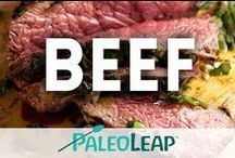 Paleo Beef Recipes / Beef and red meat recipes. / by Paleo Leap