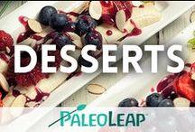 Paleo Desserts / Tasty paleo sweets / by Paleo Leap