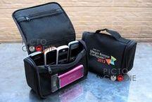 Tas Promosi / Portfolio Tas Goodie Bag, Compartment dan Spunbond untuk kebutuhan promosi produk, event acara dan lain-lainnya