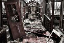 Forgotten Places / Empty, abandon places that could make a great setting for a story