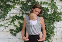 HOLD THEM CLOSE / Eco Friendly baby wrap carriers