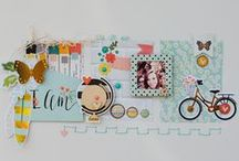 Scrapbook inspiration / Ideas for layouts
