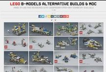 My LEGO MOCs / My Own Creations (MOC) made in LEGO bricks.