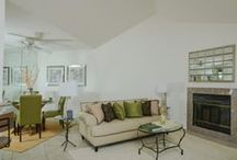 379 Windy Lane-Vista, CA / Bright split-level end-unit townhome with attached 2-car garage.