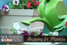 Gardening Videos / Watch as experts give advice and how-to knowledge for creating the perfect Southern Patio container gardens.
