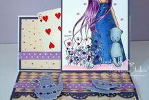 My Gorjuss cards