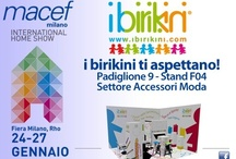 MILANO INTERNATIONAL SHOW - HOMI / Macef - Come and Visit ibirikini brand Stand / I Birikini Italian Fashion Brand - www.ibirikini.com