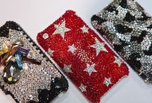 Jeweled Cell Phone Covers / Cell Covers / by Ms. G.
