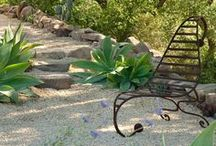 Mediterranean Garden Design / Mood, detail and design ideas for a Mediterranean style garden in Portugal, Alentejo.