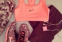 Diet/ exercise outfits / by Ana Montanez