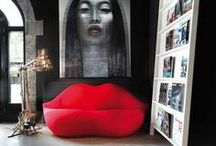 Home Decor Inspiration:  Red Hot & Outrageously Orange! / by Dosha