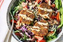 Vegetarian Salads / Fresh, vegetarian salads.