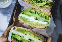 Vegetarian Sandwiches / Vegetarian sandwiches packed with flavor.