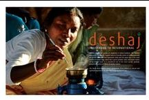 Deshaj - Indigenous to International / DESHAJ is an initiative by AIM to promote the exclusive handmade products of the folk and tribal artisans of India. The goal is to generate livelihood, sustainability and fair wages for the artisans and their family. This also acts to promote and market the crafts and skills of the the backward classes of the society. Our team of passionate hearts are working on the challenges to germinate and preserve the rare and almost extinct crafts; training the next generation of artisans.