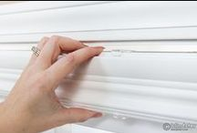Faux Wood Blinds / An up close look at the available options and details of Faux Wood blinds.