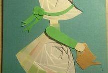 iris folded / tworzenie kartek