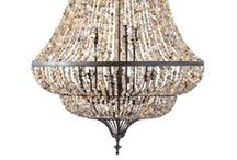 Ceiling Lights and Chandeliers / There is no better way to light your home that with stylish and functional ceiling lights!