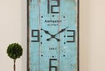 Clocks / Clocks are more than just a way to tell time!  They have now become must-have home accents for a stylish decor!