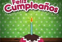 Feliz cumpleaños / Felicitaciones, pasteles, frases