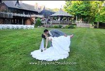 Blissful June Wedding / Sarah & Danny's Blissful June Wedding at Bill Miller's Castle by Hopkins Studio