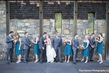 Gorgeous Summer Wedding / Kat & Jamy's Gorgeous Summer Wedding at Bill Miller's Castle by Tiny Human Photography LLC