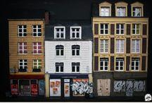 Street vitrine / Street vitrine diorama maquette