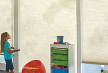 Child/Pet Safe / You can be worry free with these blinds and shades!